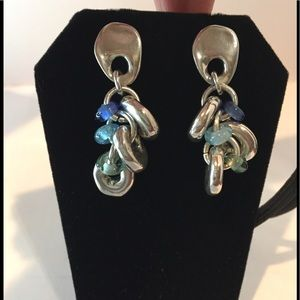 UNO de 50 Chandelier drop earrings